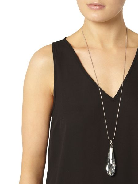 Dorothy Perkins Black V Neck Shell Top