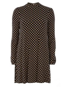 Dorothy Perkins High Neck Swing Dress