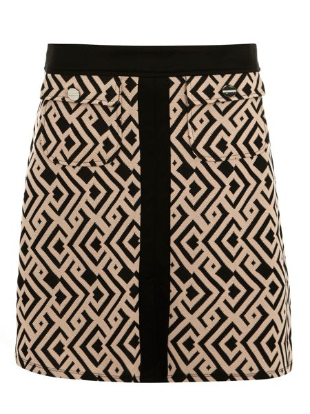 Dorothy Perkins Geo Printed Aline Mini Skirt