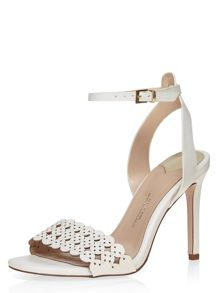 Dorothy Perkins Woo` Lazer Cut Sandals