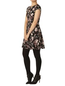 Dorothy Perkins Botanical Print Belted Dress