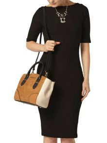 Dorothy Perkins Mini Panel Tote Bag