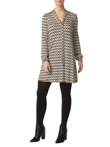 Dorothy Perkins Petite Spot Tie Dress