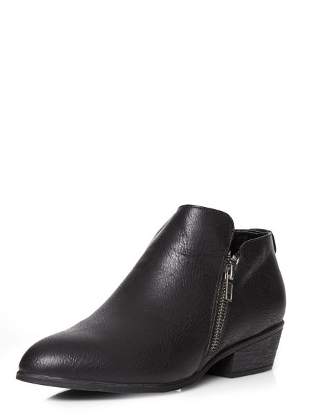 Dorothy Perkins Lippy Zip Detail Boots