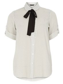 Dotty Frill Shirt