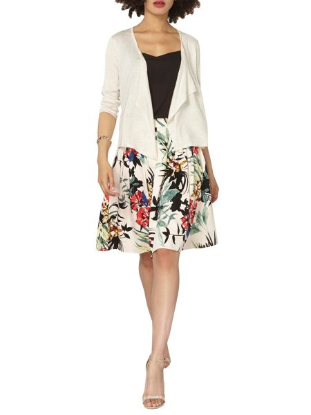 Dorothy Perkins Pointelle Back Edge To Edge Cardigan