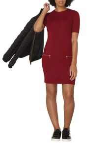 Dorothy Perkins Zip Pocket Tunic Top