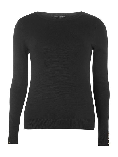 Dorothy Perkins Button Cuff Jumper