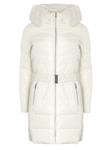 Dorothy Perkins Luxe Belted Padded Coat