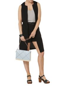Dorothy Perkins Tab Sleeveless Jacket