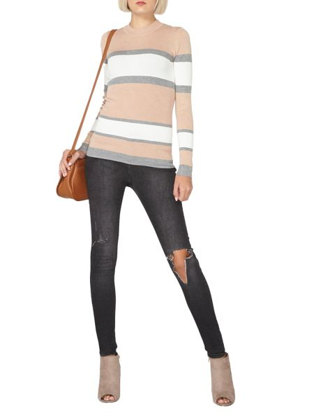 Dorothy Perkins Striped Crew Neck Jumper