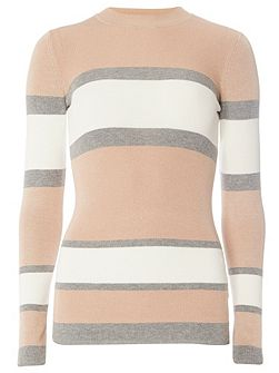 Tall Stripe Crew Neck Jumper