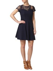 Dorothy Perkins Petite Fit and Flare Dress