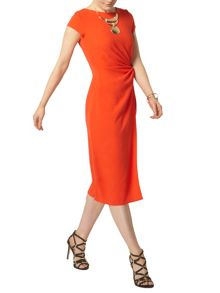 Dorothy Perkins Orange woven knot detail dress