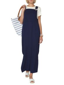 Dorothy Perkins Buckle Maxi Pinafore Dress