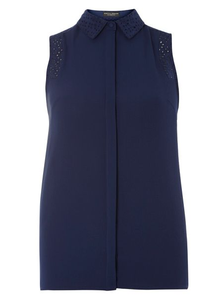 Dorothy Perkins Popcorn Sleeveless Top