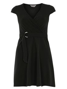 Dorothy Perkins Petite D Ring Wrap Dress