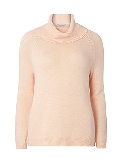 Petite Wool Roll Neck Jumper