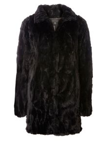 Dorothy Perkins Tall Plush Coat