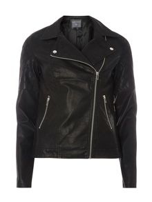 Dorothy Perkins Tall Diamond Stitch Biker