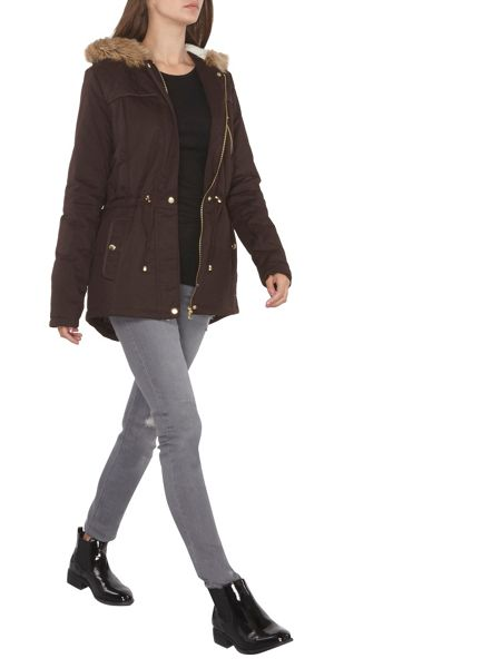 Dorothy Perkins Tall Short Parka