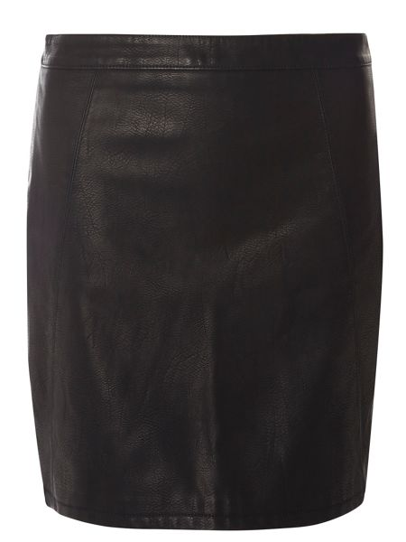 Dorothy Perkins Tall PU Mini Skirt