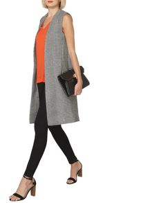 Dorothy Perkins Textured Sleeveless Gilet