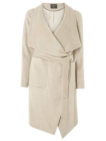 Dorothy Perkins Drawn Waterfall Coat