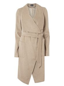 Dorothy Perkins Tall Drawn Waterfall Coat