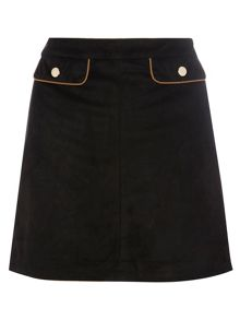 Dorothy Perkins Suedette Mini Skirt