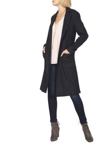 Dorothy Perkins Split Crombie Coat