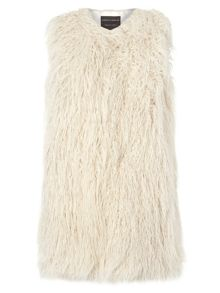Dorothy Perkins Plush Fur Gillet