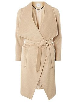 Petite Waterfall Coat
