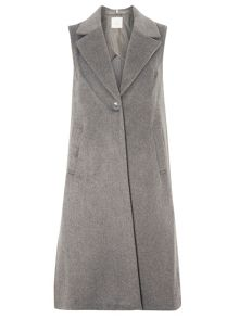 Dorothy Perkins Petite Sleeveless Coat