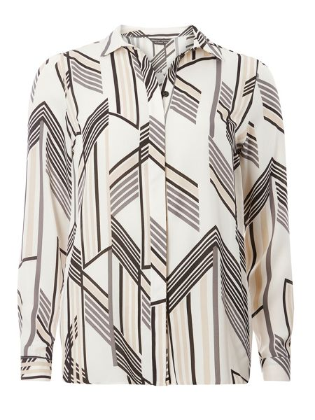Dorothy Perkins Stripe Long sleeve Shirt