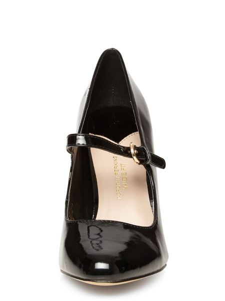 Dorothy Perkins Wide Fit Mary Jane Courts