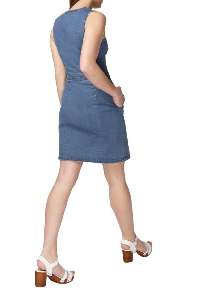 Dorothy Perkins Denim Popper Front Dress