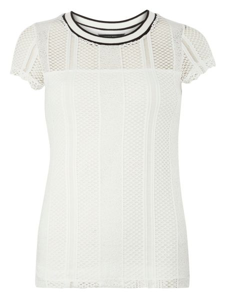 Dorothy Perkins Lace Sports T-Shirt