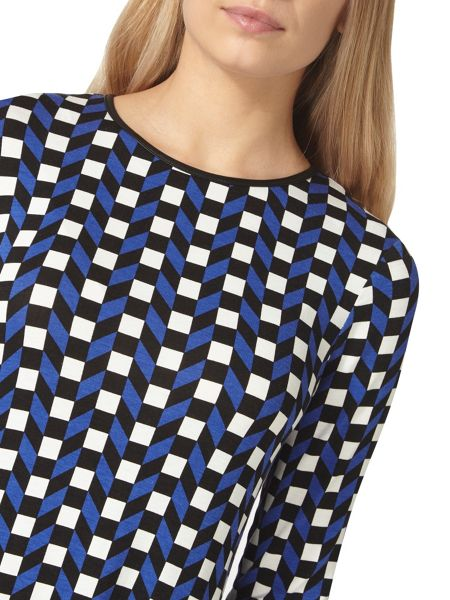 Dorothy Perkins Geometric Print Swing Dress