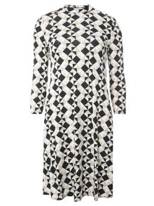 Dorothy Perkins Tall Geo Swing Dress