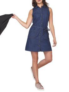 Dorothy Perkins Petite Denim Shirt Dress