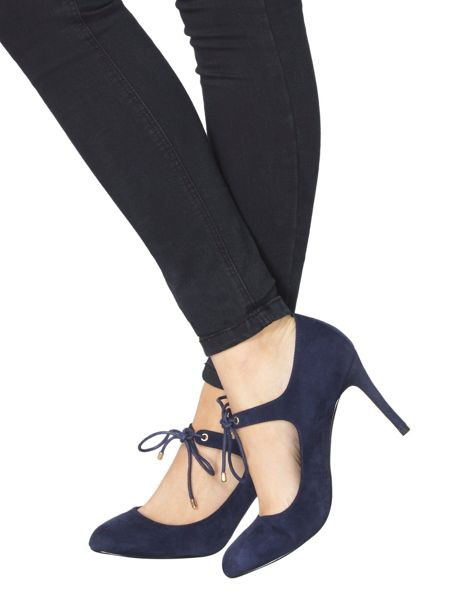 Dorothy Perkins Tie Up Court Shoes