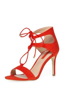 Dorothy Perkins Red Sindy Tassel Sandal