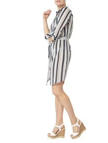 Dorothy Perkins Striped Shirt Dress