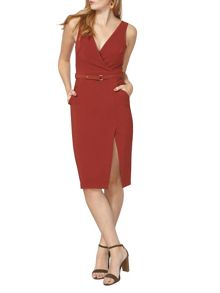 Dorothy Perkins Wrap Front Dress
