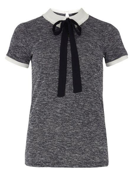 Dorothy Perkins 2-in-1 With Frill Collar Top