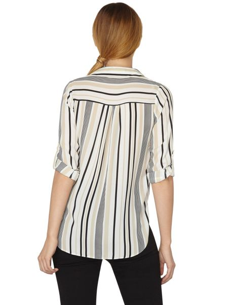 Dorothy Perkins Stripe Collar Shirt