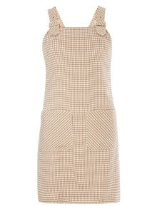 Dorothy Perkins Dogtooth Pinafore Dress