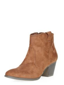 Dorothy Perkins Amber Western Boots