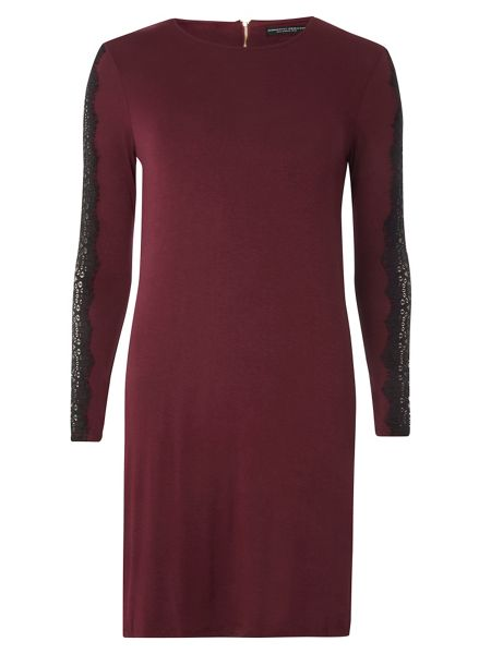 Dorothy Perkins Lace Sleeve Swing Dress